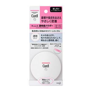 ◆kyureru透明感粉(白化妝粉)透明型4g◆《kyurerufeisupauda花王》