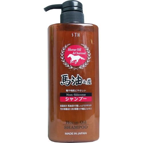 髪や地肌にやさしいノンシリコンシャンプー 馬油の潤い成分で髪しっとりツヤツヤ 汚れ吸着成分 炭の吸着力で地肌スッキリ 馬油炭シャンプー 600ml馬油 バーユ マーユ 炭 ノンシリコン シャンプー ヘア ヒッツ エスティヒッツ 洗浄 地肌 髪 洗う STH 品質保証 保湿 エス 激安特価品 頭皮 ティ