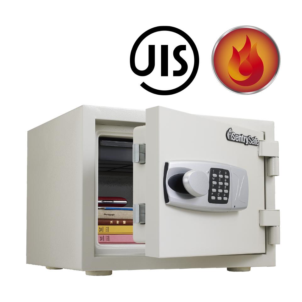 貴重品を安全な場所にまとめて保管しませんか?金庫の機能は盗難対策だけではありません 火災や地震などの災害からも大切なものを守ります 一家に一台 一人に一台あると安心です JIS合格1時間耐火 メーカー2年保証 高級な セントリー耐火金庫 JBS-NT310H A4ファイル収納 家庭用 37kgテンキー式 信頼の米国ブランド 小型 創業90年 火災による損傷の場合は製品を無償交換 15L 卓越