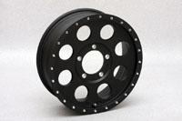 ジムニー SOLID RACING I-metal X BLACK 5.5J-16 +20 P.C.D139.7