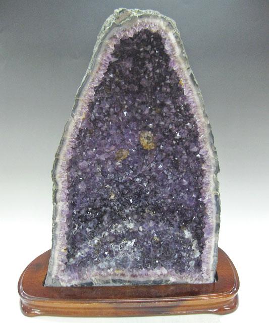 アメシスト(アメジスト) ドーム 原石 (風水) 紫水晶 約12.8kg Amethyst クラスター パワーストーン