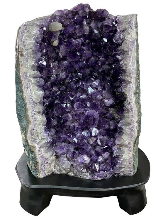 アメシスト(アメジスト) クラスター 原石 (風水) 紫水晶 約98kg Amethyst ドーム パワーストーン