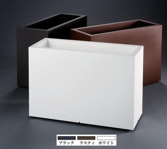 イタリア製デザインプランター カセッタキューブ・ハイ ユーロ・スリープラスト ER-2519 Euro 3 Plast Khilia Cassetta Cube High