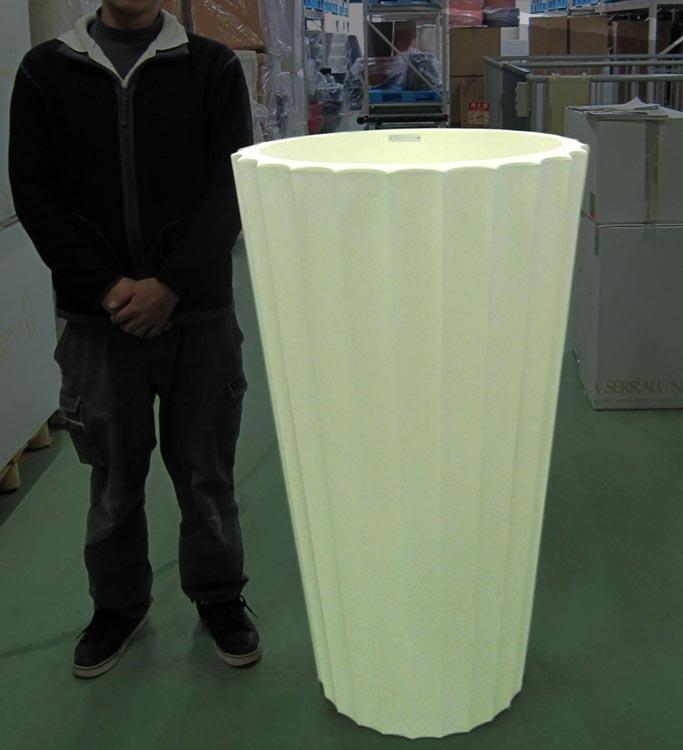 イタリア製デザイナーズプランター ユーフロニオ Eufronio Serralunga Designers 植木鉢 MADE IN ITALY