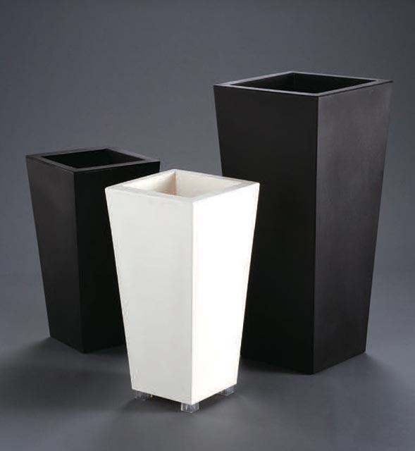 イタリア製デザインプランター カビン マキシ (高さ100cm) KABIN-MAXI Serralunga Designers 植木鉢