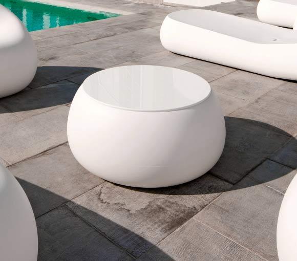 イタリア製デザイナーズファニチャー Tボール・テーブル (直径約1m65cm 高さ約33cm) ユーロ3 プラストコレクション EP-6248 Plust Collection T-ball Table オブジェ テーブル