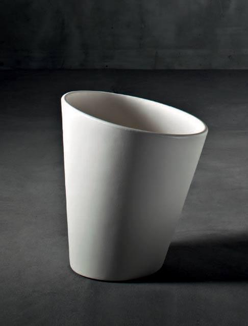 イタリア製デザイナーズプランター ピサ (直径51cm×高さ58cm) Pisa SD-500-052 Serralunga Designers MADE IN ITALY