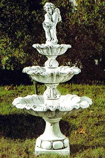 【イタリア製】石造噴水 ヴィラ·ランテ PapiniAgostino Art.13 ガーデン ファウンテン