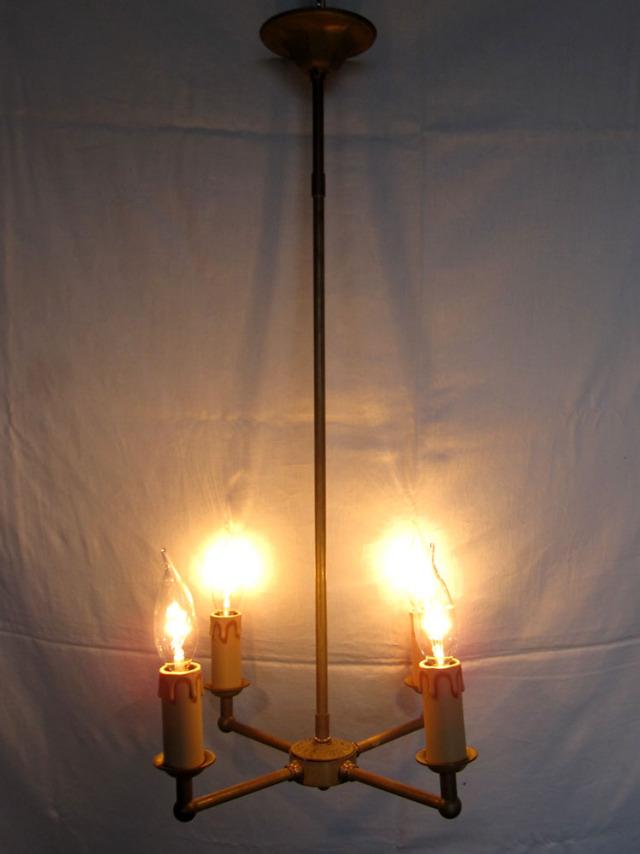 アイアン シャンデリア キャンドル型照明 展示品特別販売