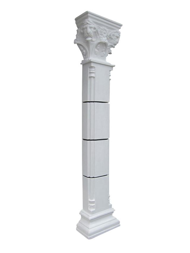 飾り柱・装飾柱2本セットエントランス、玄関の演出に