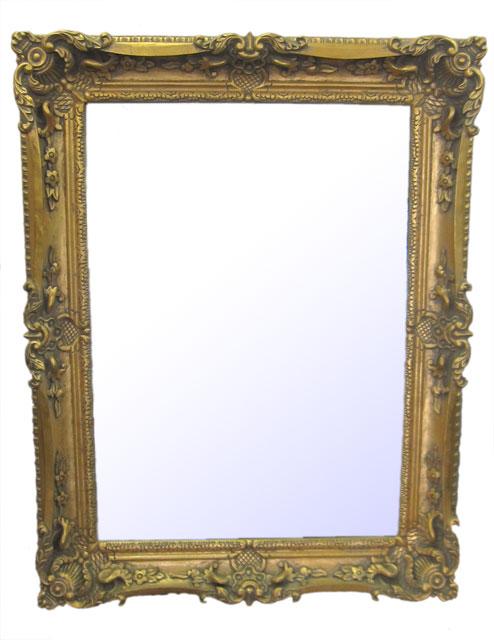 アウトレット ゴールド ウォールミラー 壁掛け 鏡