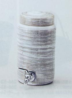 【焼酎サーバー】青磁刷毛ロングサーバー2.0リットル焼酎サーバー 焼酎を入れて2・3日で熟成が進みまろやかな味に!陶器瓶でかめ熟成♪