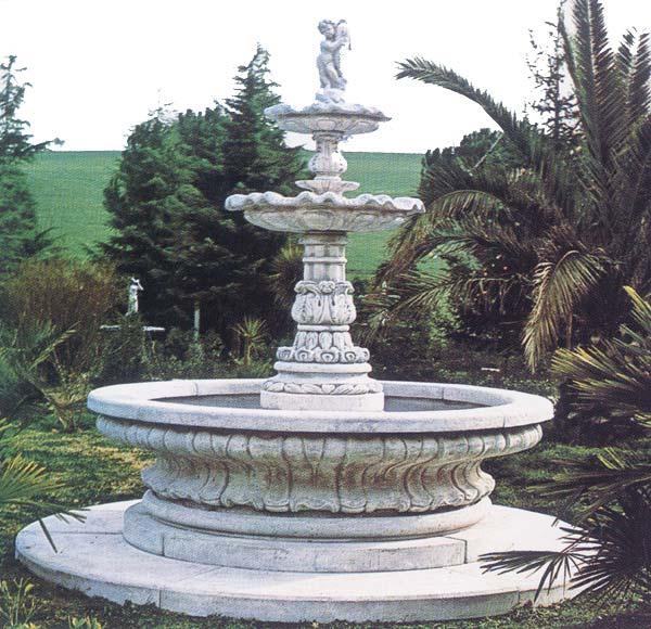 イタリア製 大型噴水 アラッシオ ALASSIO ITALGARDEN FO0201 イタルガーデン ファウンテン