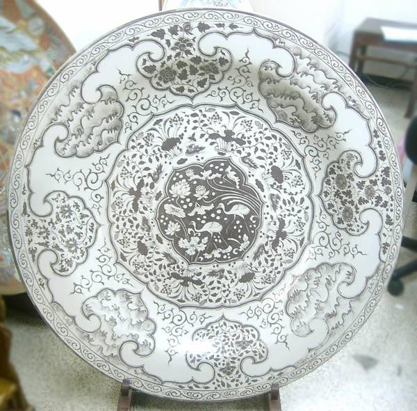 絵付大皿 (直径約1m8cm)