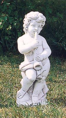 【イタリア製 石像】子供の楽団(小)トロンボーン