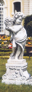 【イタリア製 石像】季節の子供(大)秋