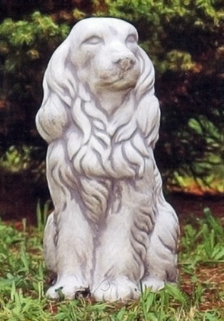 【イタリア製 彫刻 犬】コッカー