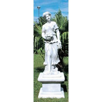 イタリア製ビーナス像(ガーデン オーナメント) 秋の乙女