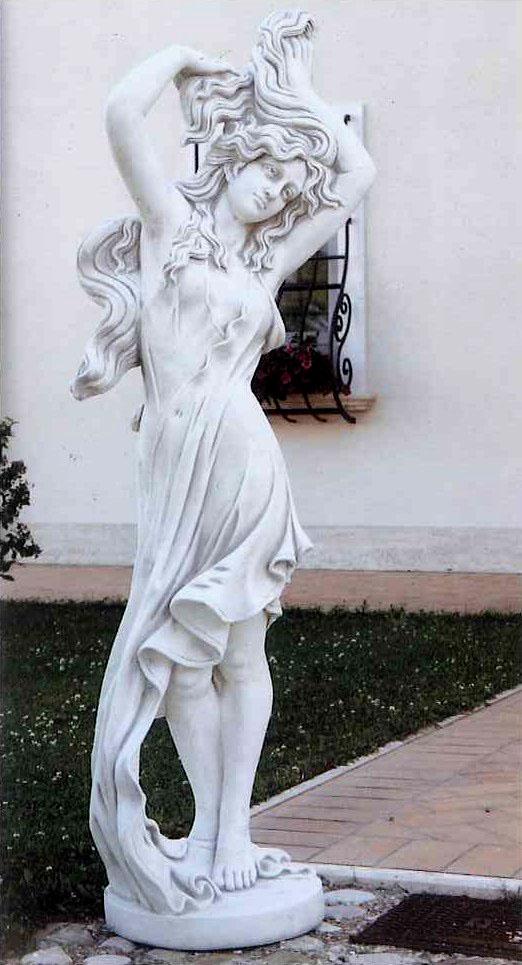 イタリア製ビーナス石像(ガーデン オーナメント) エステラ 【商品番号:y-st3375】