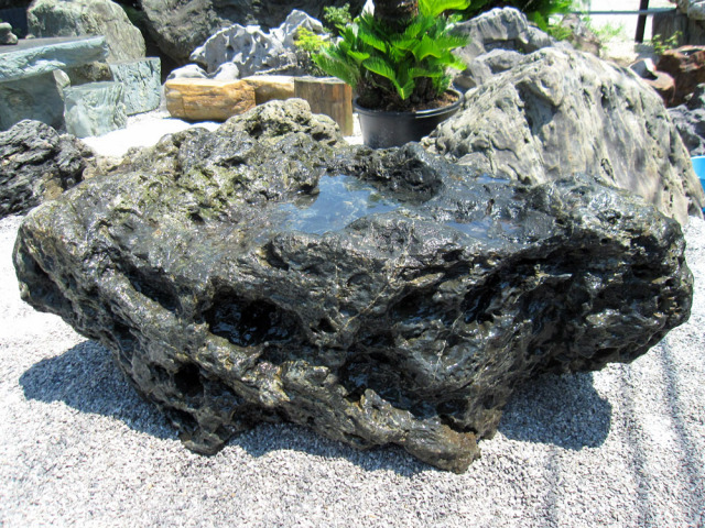 千軒石 庭石 景石 天然石 北海道 日本 庭園 銘石 y-kur1707-002