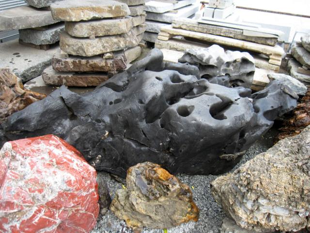 太湖石(たいこせき) 078庭石 銘石 景石