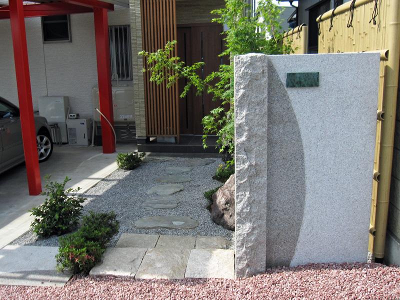 天然御影石 コンポジットウォール(桜) 1800×200 門柱 石材 塀