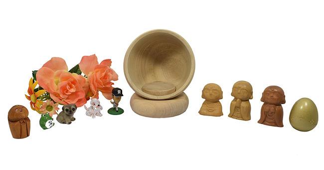 【お厨子】Hokkori-ほっこり-★お仏像、お写真など好きなものを入れてお祀りください。※楠(くす)製お厨子 ずし 厨子 ミニ仏壇 手元供養 木製品 木製置物 縁起物 お守り 木彫り 縁起物