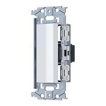 パナソニック お求めやすく価格改定 Panasonic SO-STYLE ロングハンドルスイッチ 取付枠セット品 スイッチC マットホワイト WNSS52929W 高額売筋