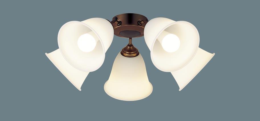 パナソニック照明器具(Panasonic) シーリングファン専用LEDシャンデリア SPL5542K(電球色)