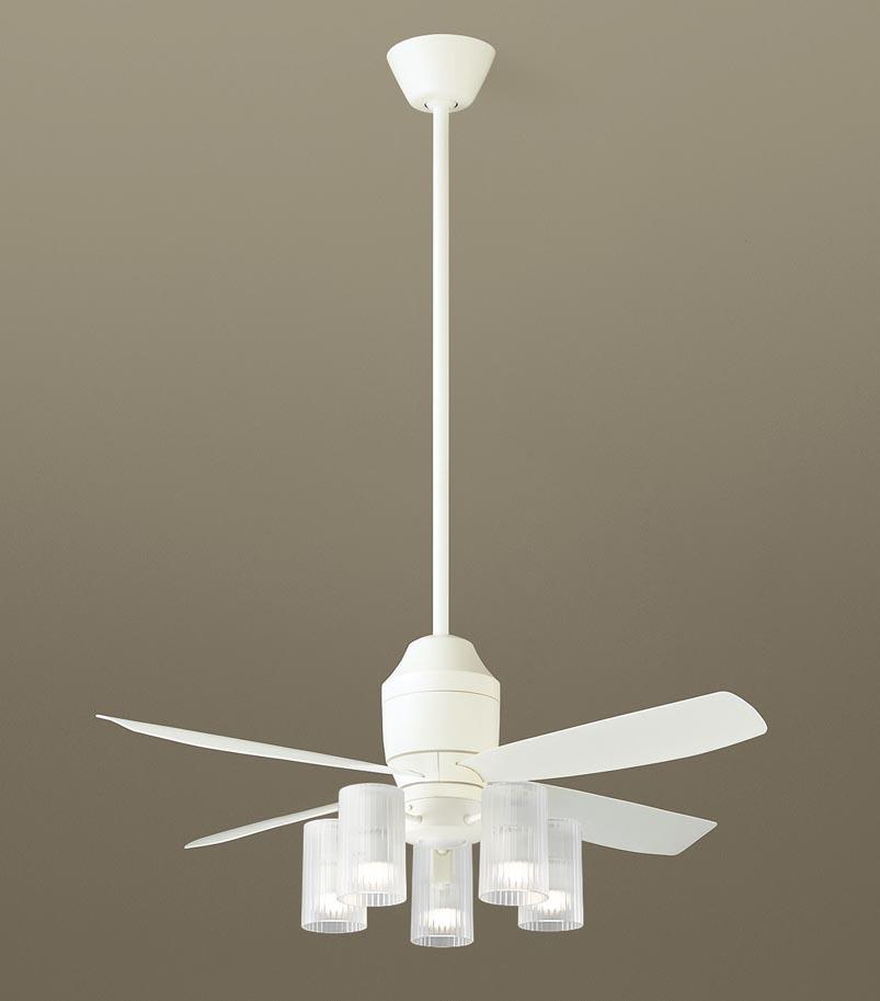 パナソニック照明器具(Panasonic) φ1100mm DCモータータイプシーリングファン(900mm延長・灯具付)(要電気工事) XS70112Z