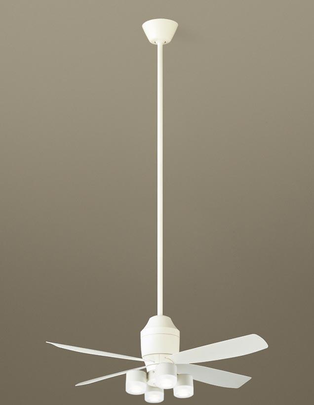 パナソニック照明器具(Panasonic) φ1100mm DCモータータイプシーリングファン(1500mm延長・灯具付)(要電気工事) XS70525