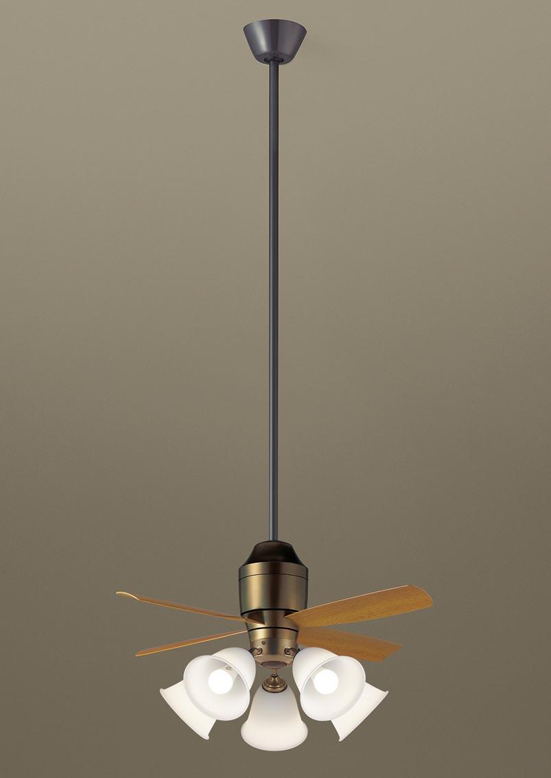 パナソニック照明器具(Panasonic) φ900mm DCモータータイプシーリングファン(1500mm延長・灯具付)(要電気工事) XS78542K
