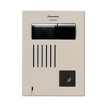 【あす楽対応_関東】パナソニック(Panasonic) カラーカメラ付ドアホン子器(WQD品番専用)(薄型タイプ露出)(シャンパンブロンズ) WQD852Y