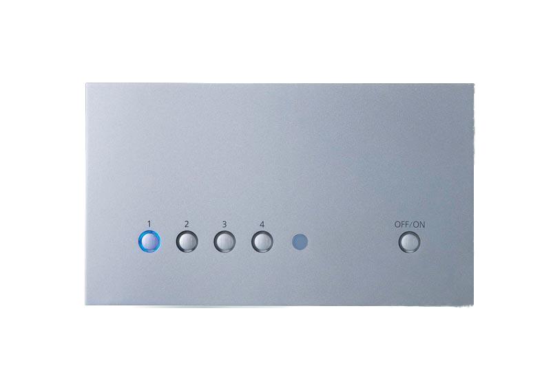 パナソニック照明器具(Panasonic) 壁埋込型リビングライコン 5回路マルチON/OFFタイプ(親器) NQ28750S