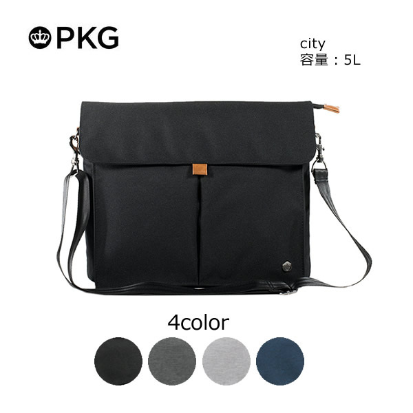 PKG(ピーケージー) City サイズ:35.6cm x 29.2cm x 6.35cm(5L)