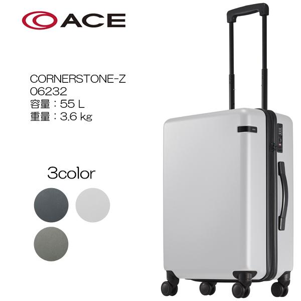 ace. コーナーストーンZ 17AW 6232 サイズ:55cm/容量:55L/重量:3.6kg