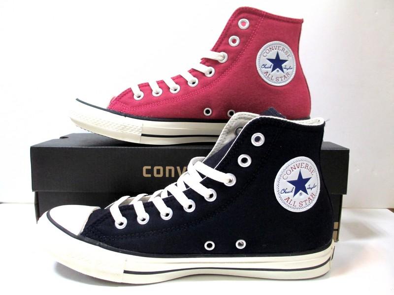 送料無料 コンバース オールスター converse オールスター メリノウール HI ネイビー ピンク CONVERSE ALL STAR MERINO-WOOL HI NAVY PINK メンズ レディース スニーカー