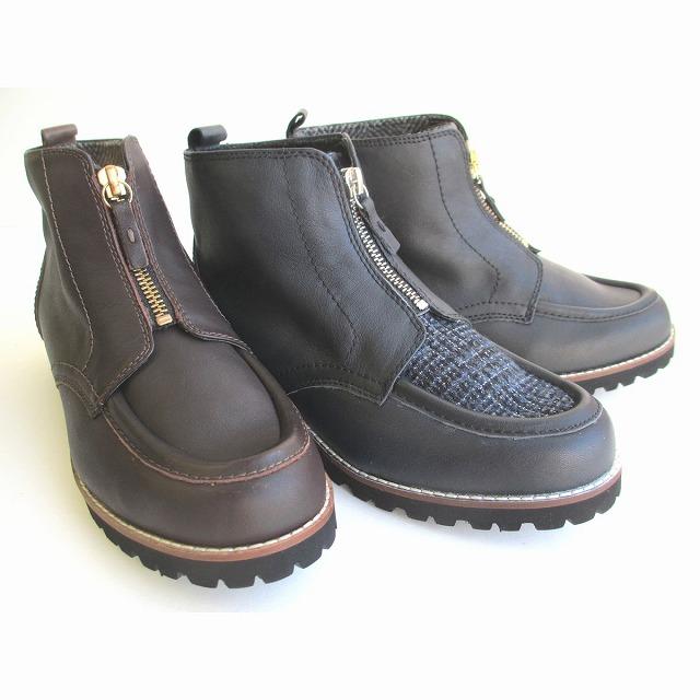 ◆送料無料!!◆ イング ING ing 7842 レディース 天然皮革 カジュアルショートブーツ 防寒靴 通勤靴 ブラック ネイビーコンビ ダークブラウン