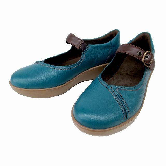 送料無料 アキレス ソルボ Achilles SORBO 244 SRL2440 レディース トラベルシューズ コンフォートシューズ フラットヒール 厚底 通勤靴 仕事靴 ブルー