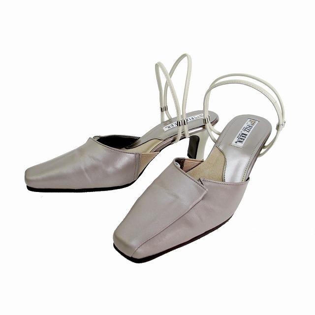 フィズリーン FIZZ REEN fizzreen 8911 レディース レディース 2WAYストラップミュールパンプス 日本製 通勤靴 仕事靴 グレーベージュ