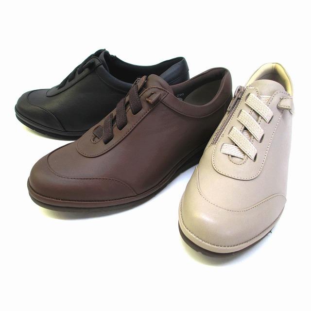 ピサ Pisaz pisaz 1274 レディース 天然皮革 ゴアレース コンフォート靴 仕事靴 通勤靴 ブラック ダークブラウン グレーベージュ