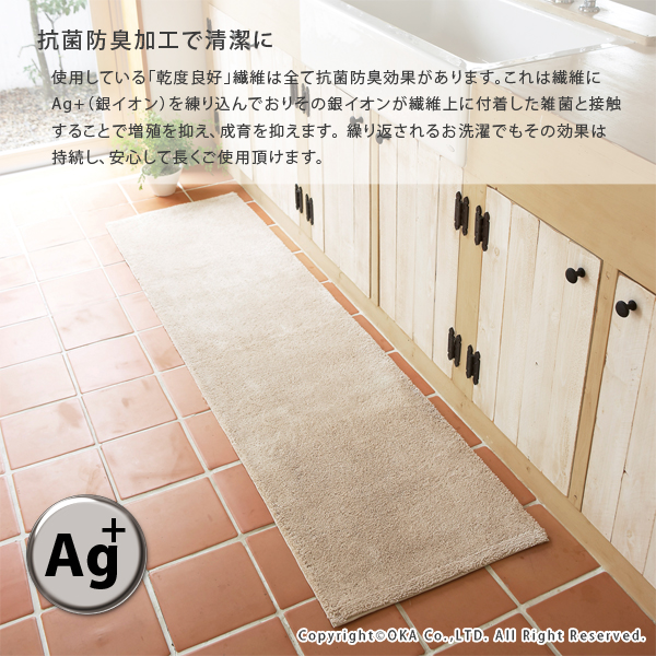 ... Dry Times Good Kitchen Mat Low Pair Approximately 60 Cm X 120 Cm (water  ...