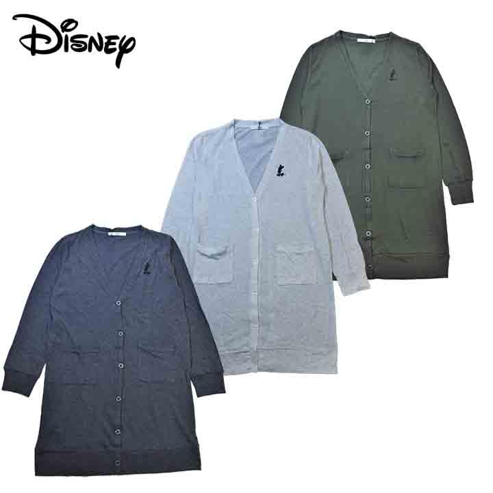 送料無料激安祭 Disneyディズニー 前アキ カーディガン レディース 3Lサイズ 送料無料