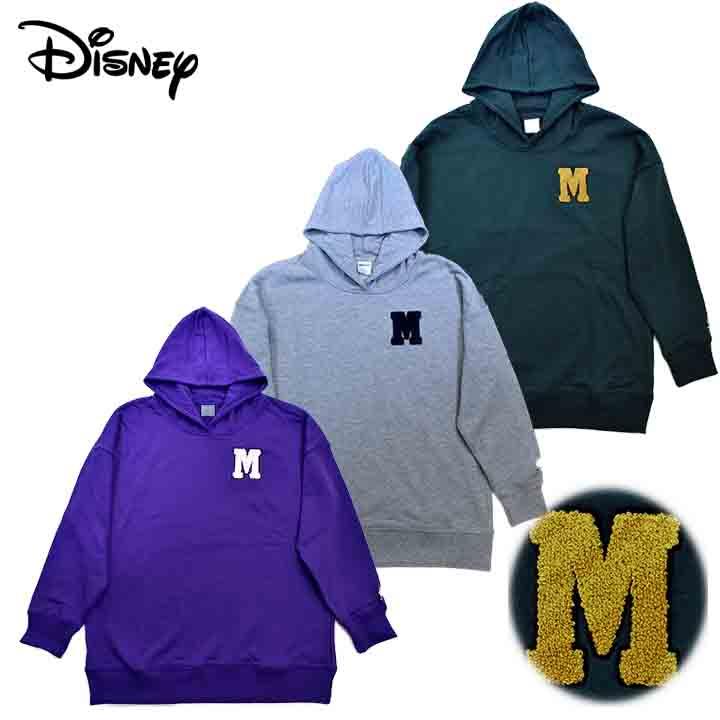 Disneyディズニー ギフト プレゼント ご褒美 モンスター 全国一律送料無料 トレーナー パーカー Lサイズ M レディース
