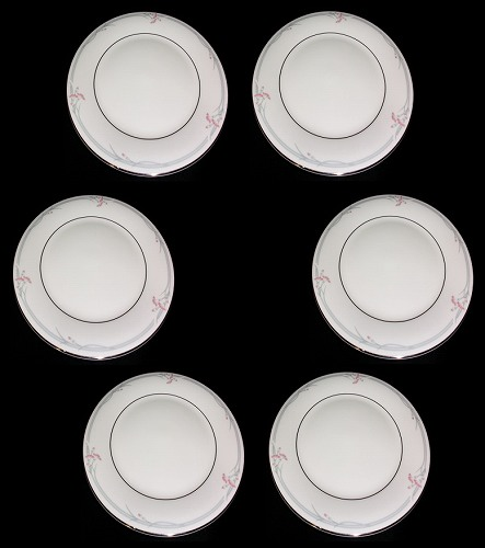 Royal Doulton Carnation ロイヤルドルトン カーネーション H5084 お皿/プレート 20.5cm プレート6枚セット※箱無しプレゼント ギフト 贈リ物 祝 お祝い 記念品
