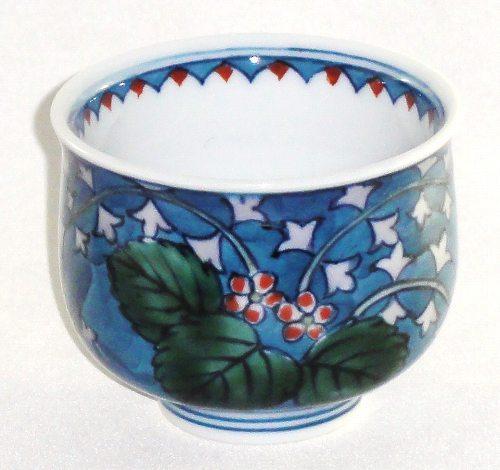 花柄 盃 杯 ぐい呑み 酒器 おちょこ【送料無料】和食器 食器 陶器プレゼント ギフト 贈リ物 祝 お祝い 記念品