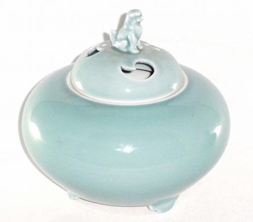 深川製磁 青磁 5号【香炉】【お香】【送料無料】和食器 食器 陶器プレゼント ギフト 贈リ物 祝 お祝い 記念品