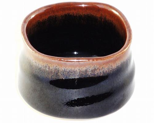 美濃焼 天目釉 ぐい呑 (戸松万典)/和食器 プレゼント ギフト 贈リ物 祝 お祝い 記念品
