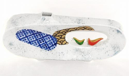 九谷焼 白小紋 11号 花瓶 陶器 花器 花入 フラワーベース プレゼント ギフト 贈リ物 祝 お祝い 記念品