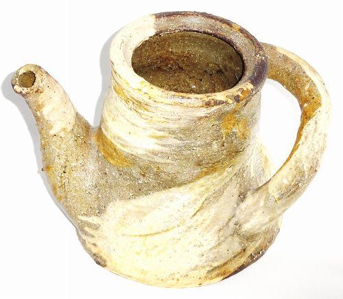 信楽焼 土瓶型花瓶 陶器 花器 花入 フラワーベース【送料無料】プレゼント ギフト 贈リ物 祝 お祝い 記念品
